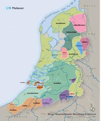 De meikever in de Nederlandse dialecten