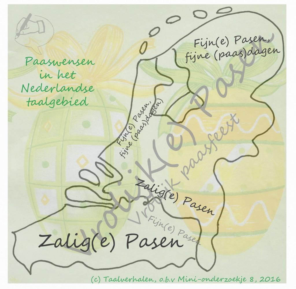 Taalkaart Paaswensen
