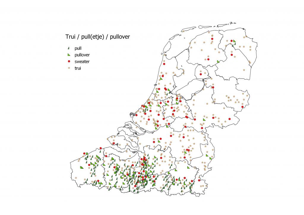 Trui pull pullover in België en Nederland