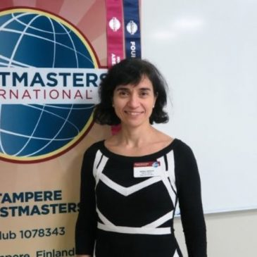Toastmasters is an opportunity for learning and developing