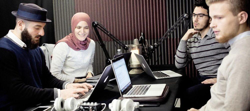Radio WAIH i studielokalet
