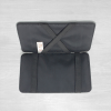 Leather wallet open