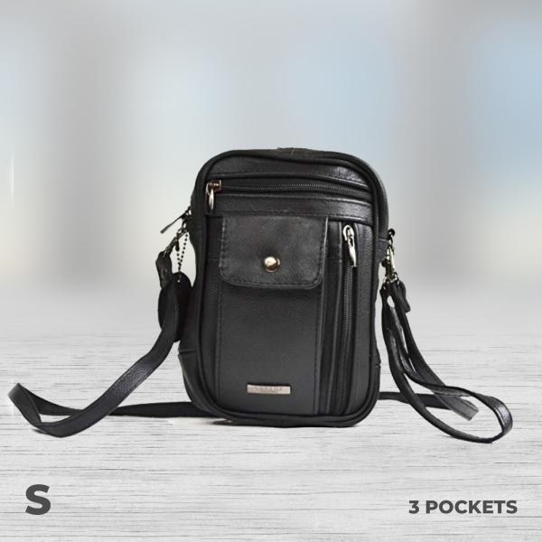 3 pocket money bag small