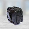 clip on leather money bag small
