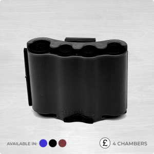 4 chamber coin dispenser black