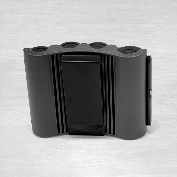 4 chamber coin dispenser black