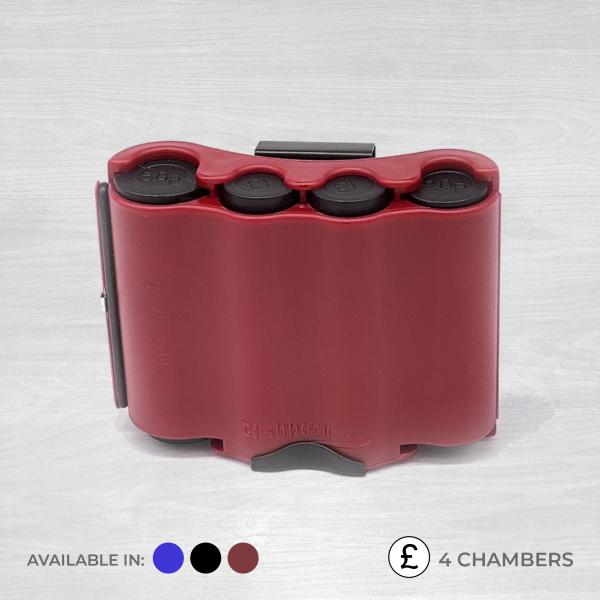 4 chamber coin dispenser