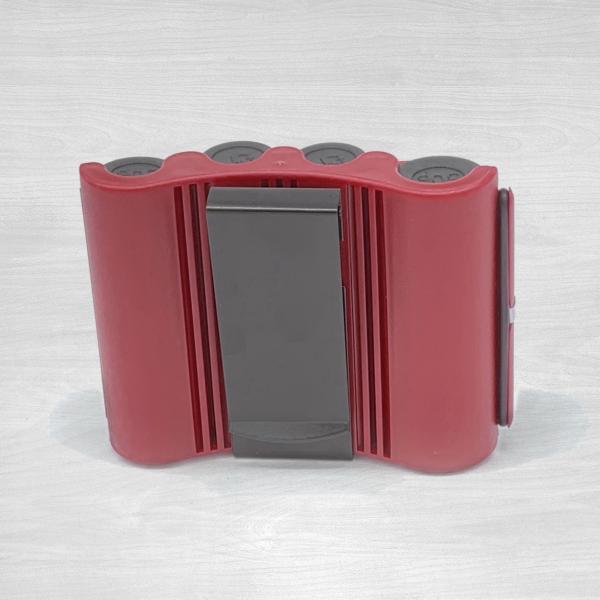 4 chamber coin dispenser red