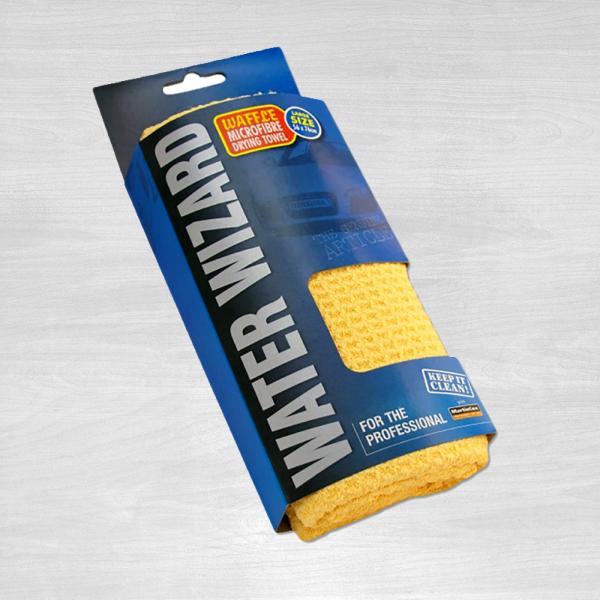 Water Wizard waffle drying towel