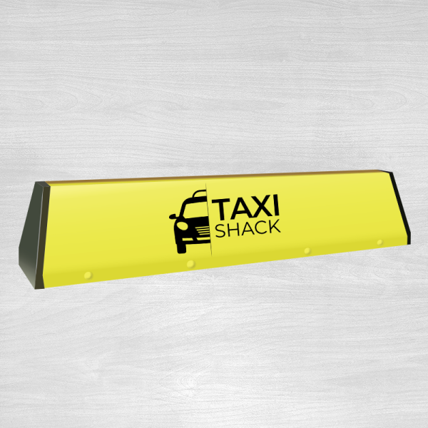 Angle 30 taxi top with own logo