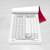 taxi drivers mini log sheet book