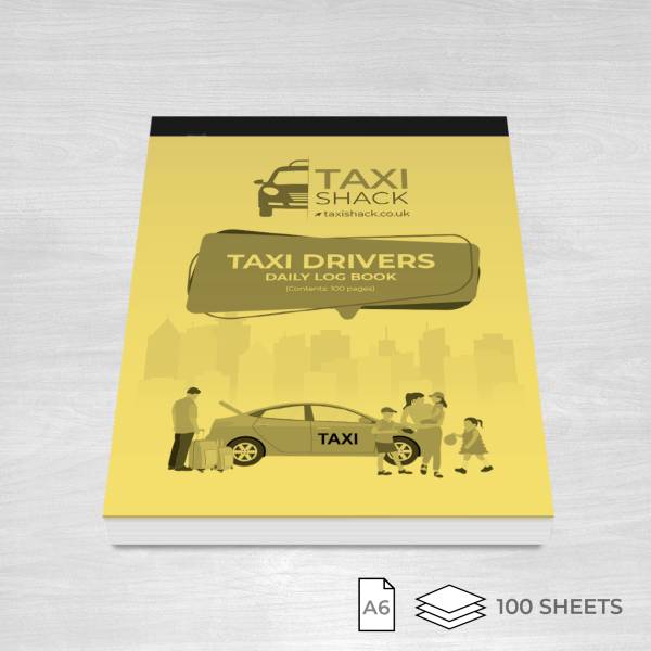 Taxi drivers daily log book