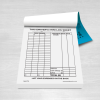 Taxi driver mini log sheet