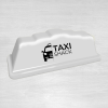 Step 18 white taxi top sign