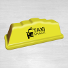Step 18 yellow taxi sign