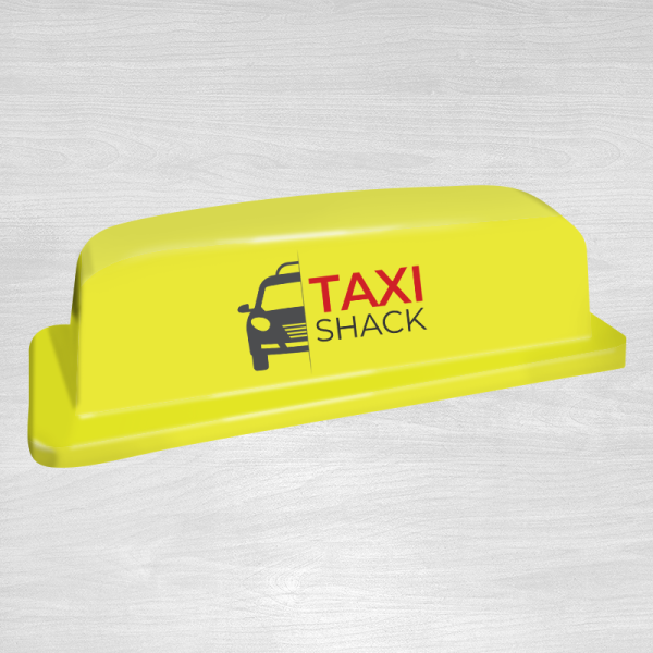 Standard 18 yellow taxi top