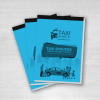 Taxi drivers weekly receipt tickets