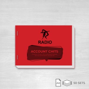 Radio Taxis Account Chits