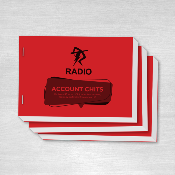 Radio Account Chits