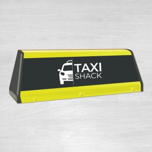 Taxi top sign