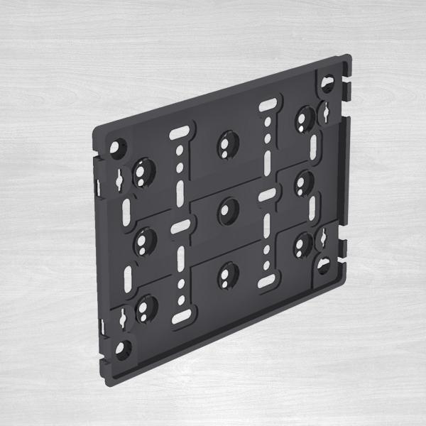 Universal frame for licence plate