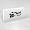 Euro 14 white taxi top sign