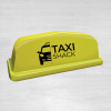Point 18 yellow taxi sign