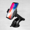 Phone mount with phone