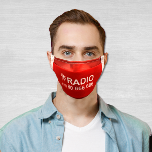 Radio Taxis face masks polyester