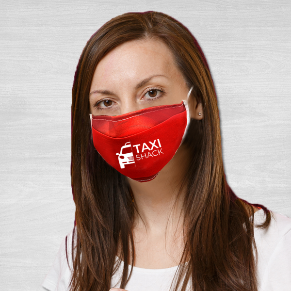 Taxi shack face masks polyester