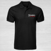 Radio Taxis poloshirt in black front