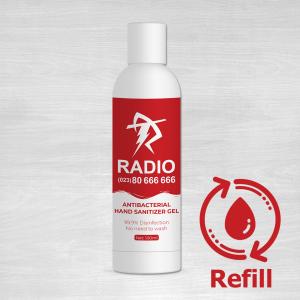 antibacterial hand sanitizer gel refill