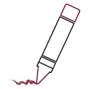 Stiften, Markers, Brushes & Pennen