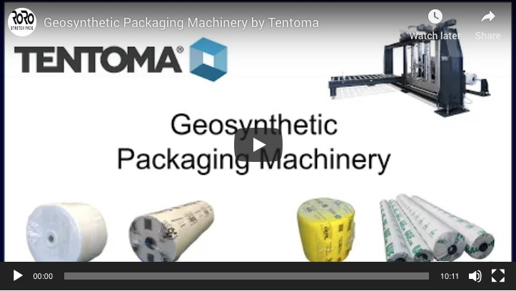 Geosynthetics packaging machinery