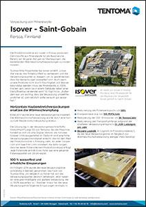 Kundenbericht - Isover - Saint-Gobain - Tentoma