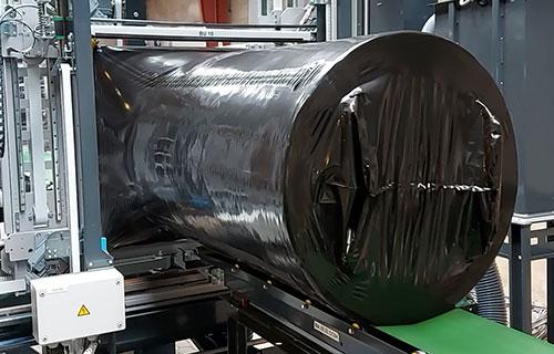 Reduzierung des übermäßigen Folienverbrauchs für Verpackungen