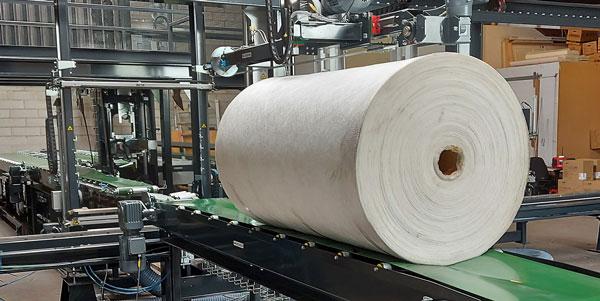RoRo StretchPack® ermöglicht die automatisierte Verpackung einer Vielzahl von Produkten, einschließlich langer Produkte bis zu mehr als 8 Metern.