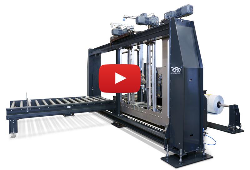 Tentoma Horizontal stretch packaging machines