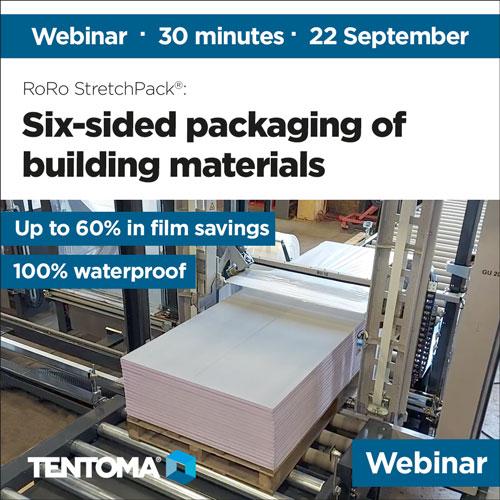 Packaging of building materials September 2021
