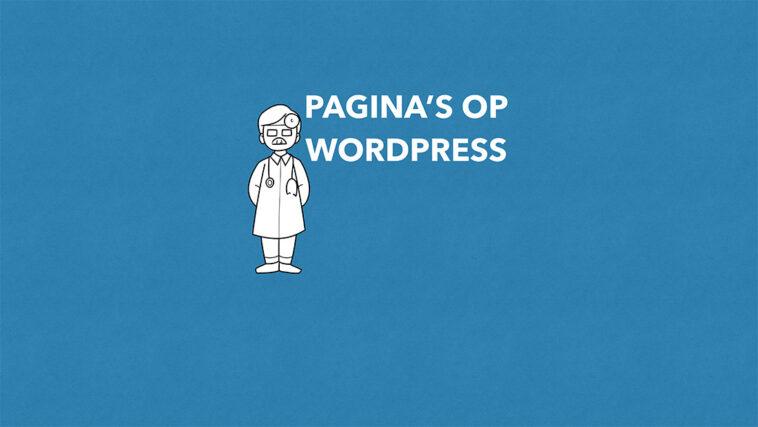 Textmaker Pagina op Wordpress