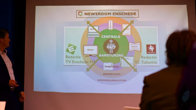 Newsroom Enschede Media-innovatie met Burgerjournalistiek