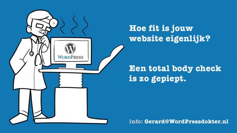 WordPressdokter ad 4 bij WordPress versus LEGO