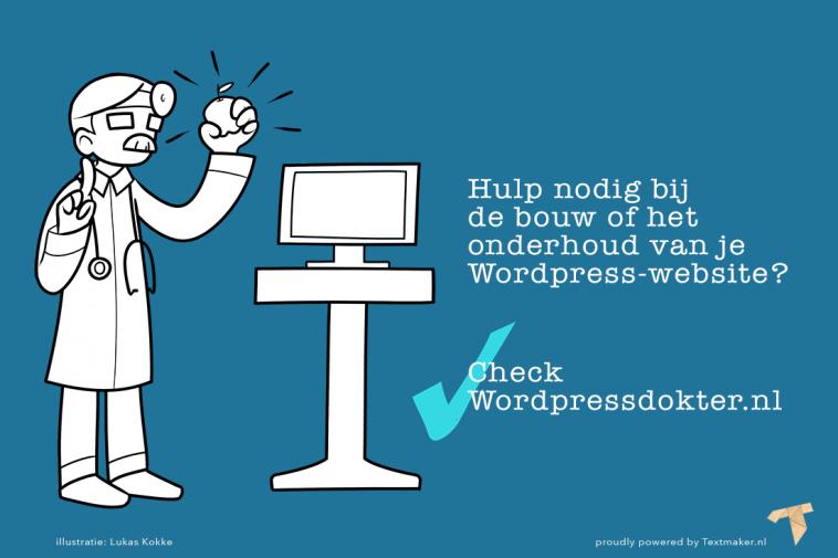 Laat je website bouwen in de buurt van Amersfoort door een WordPressdokter