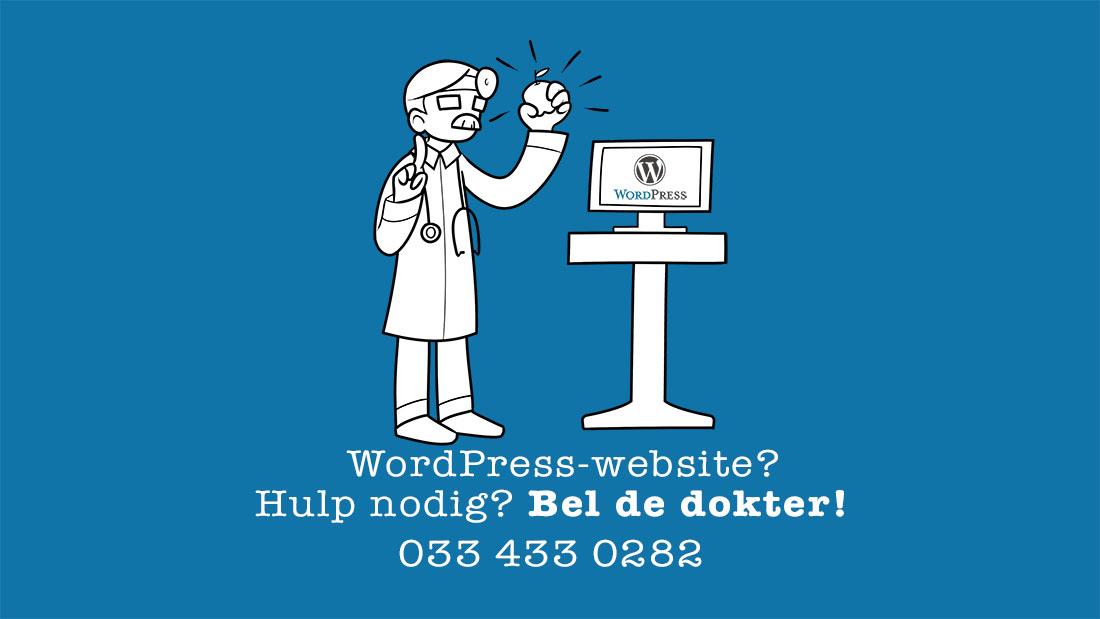Wordpressdokter advertentie Hulp nodig 1100px