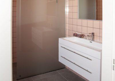 Elke kamer heeft een eigen luxe badkamer