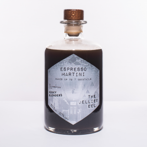 Glass Bottle of pre-mixed Espresso Martini