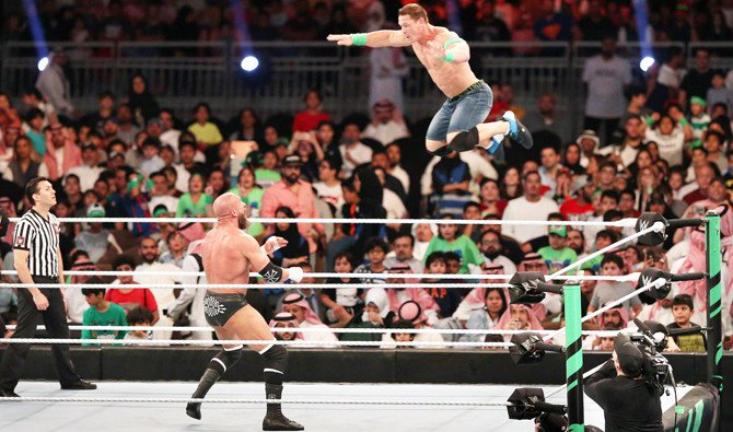 First-ever WWE Greatest Royal Rumble wows 60,000 in Jeddah