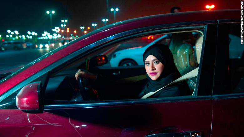 Landmark day for Saudi women as kingdom's controversial driving ban ends
