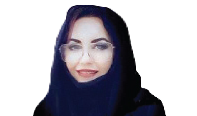 Dr. May Alobaidy, the first Saudi woman to be appointed an adviser to a minister