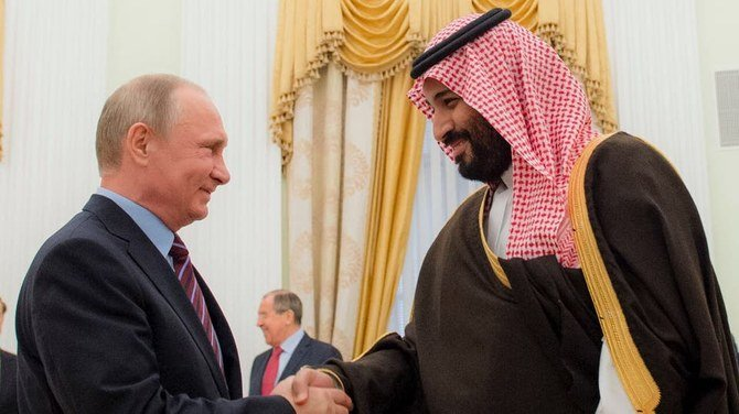 Saudi Arabia's crown prince, Russia's Putin discuss global oil markets